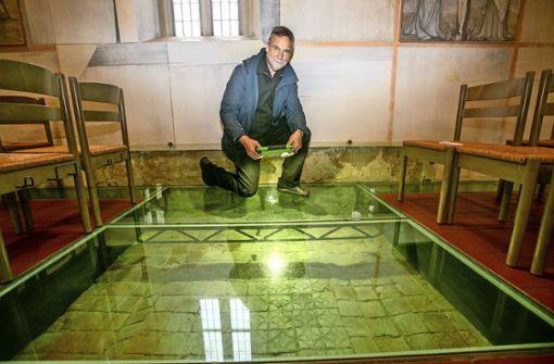Verloren geglaubte Kacheln wiederentdeckt