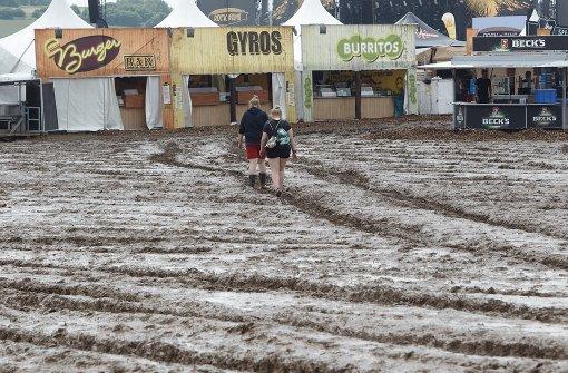 Festival zeitweise unterbrochen