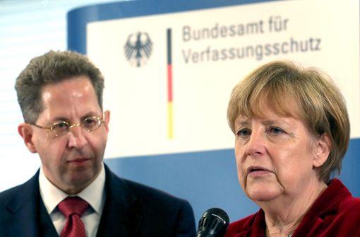 Bericht: Merkel hat über Zukunft Maaßens entschieden