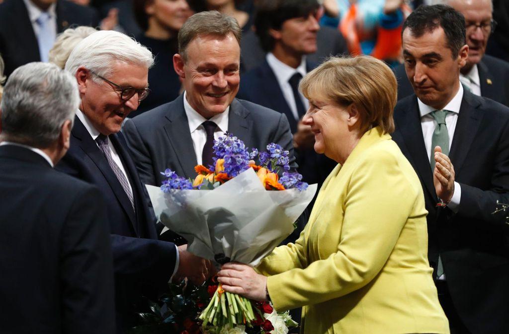 Frank-Walter Steinmeier ist zum Bundespräsidenten gewählt worden Foto: AFP