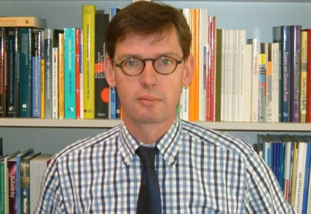 Der Panikforscher Michael Schreckenberg Foto: privat