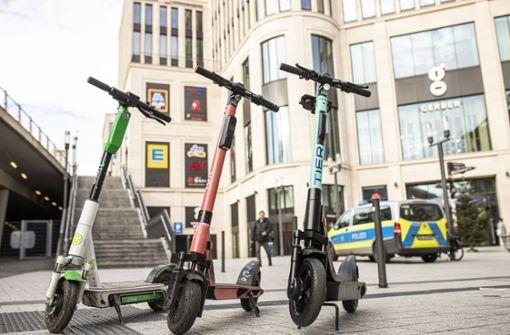 Stuttgart ist Hotspot für E-Scooter-Unfälle