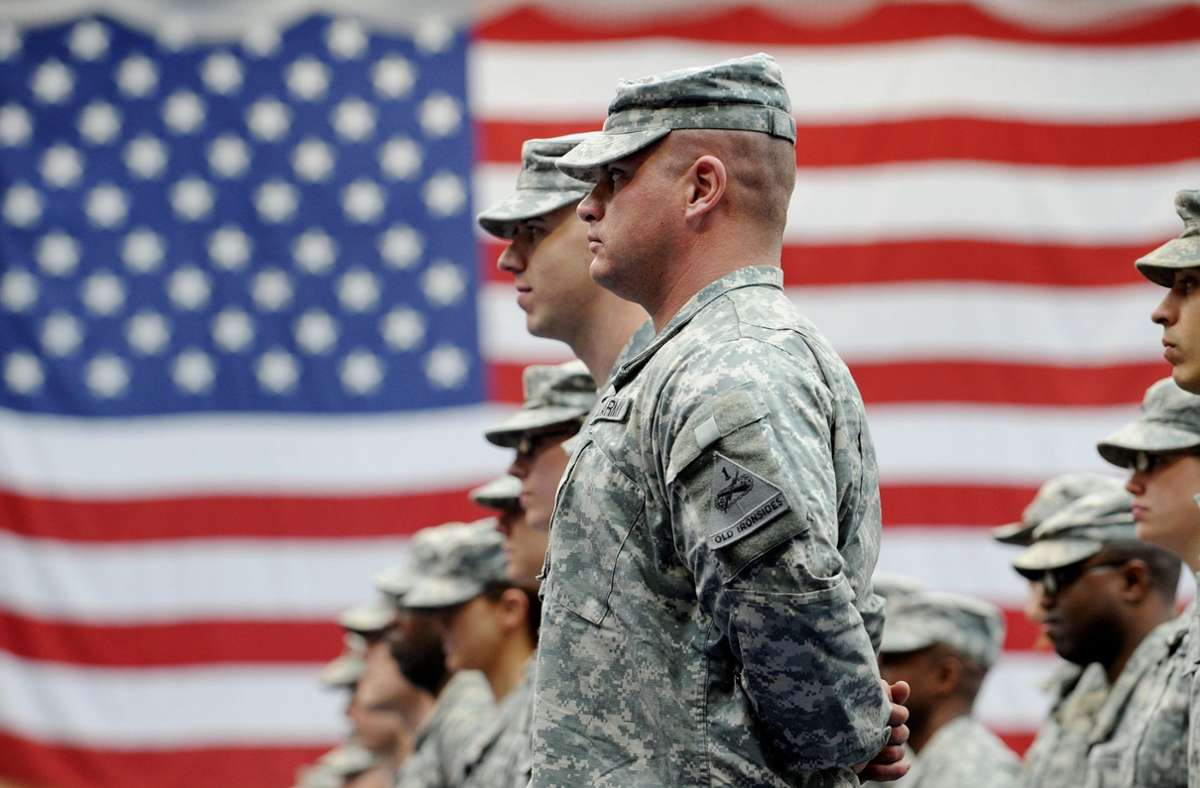 Der Abzug von rund 9500 US-Soldaten aus Deutschland ist beschlossene Sache. (Symbolbild) Foto: dpa/Frank May