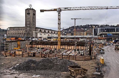 Wie geht die Bahn mit geologischen Problemen bei Stuttgart21 um? Der Lenkungskreis soll Antworten liefern. Foto: Lichtgut/Max Kovalenko