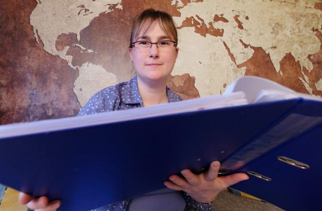 Claudia Menschel hat gemeinsam mit zwei weiteren Müttern aus Leipzig vor den Bundesgerichtshof (BGH) geklagt, weil sie nicht rechtzeitig einen Kita-Platz bekommen haben. Foto: dpa-Zentralbild
