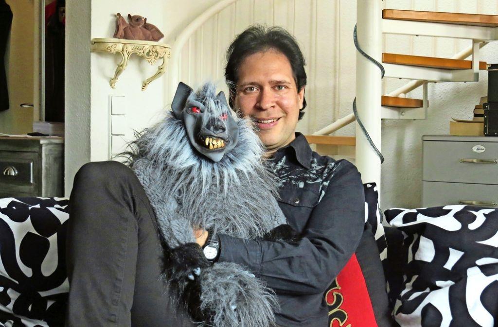 Am 12. Juni steht Oliver Klein mit seiner Puppe Igor auf der Bühne. Foto: Caroline Friedmann