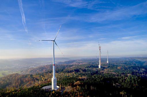 Die höchsten Windräder  der Welt gehen ans Netz