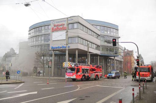 Tiefgarage in Brand – Straßen zeitweise gesperrt