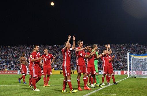 FC Bayern im Schongang weiter