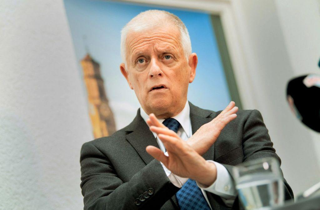 Aus, Schluss, vorbei: Stuttgarts Oberbürgermeister Fritz Kuhn tritt bei der Wahl im November nicht  an. Foto: dpa/Tom Weller