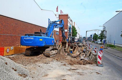 Nach zwei Jahren enden  die Kanalbauarbeiten