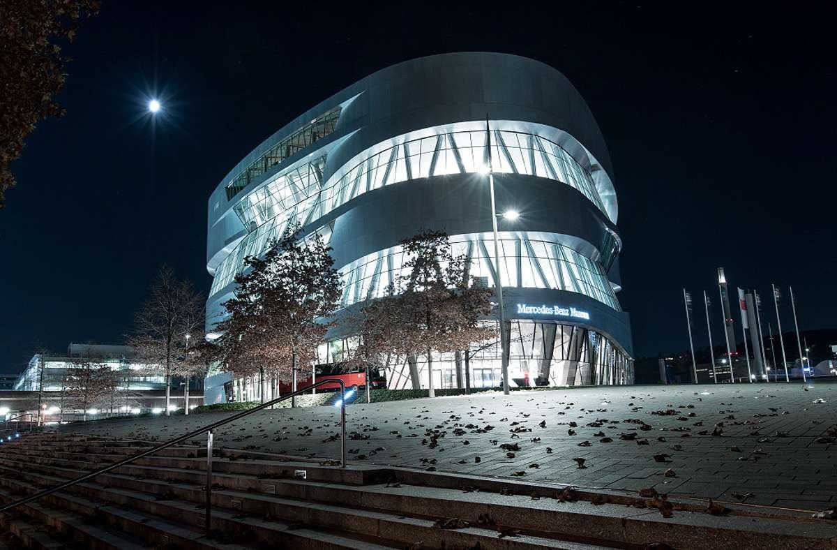 Erneuerung der Licht- und Medientechnik im Mercedes-Benz Museum: Den Auftrag erhielt SYS.TEC als Systempartner von B-CON und WAGO. Realisiert wurde das Projekt von 2017 bis 2020. Foto: Daimler AG