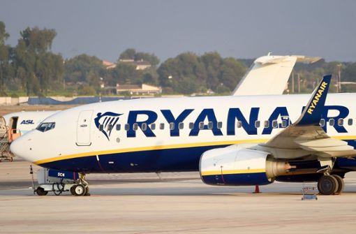 Ryanair reduziert Flotte in Irland um 20 Prozent