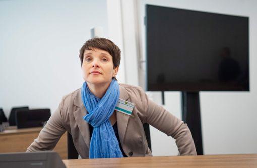 Frauke Petry schweigt vorerst im Meineid-Prozess