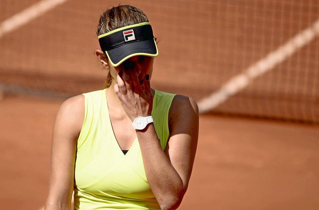 Julia Görges hat für das WTA-Turnier in stuttgart eine Wildcard erhalten. (Archivfoto) Foto: dpa