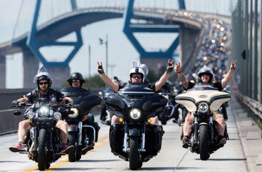 Tausende Besucher bei röhrenden US-Kult-Bikes