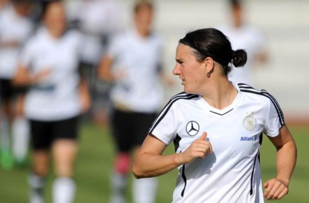 Birgit Prinz ist in der deutschen Nationalmannschaft ins Abseits geraten. Foto: dapd