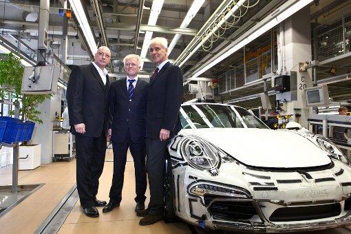 OB Kuhn hat ein Herz für Porsche