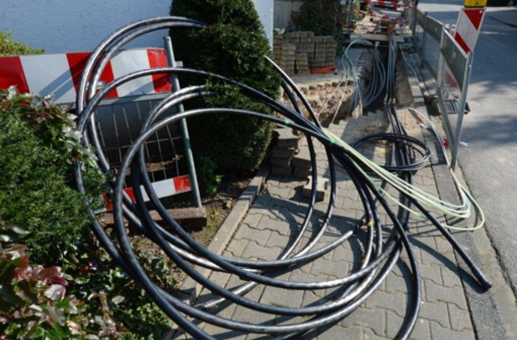 AM Montag beginnen die Arbeiten. Die Kabel werden in Etappen verlegt. Foto: dpa