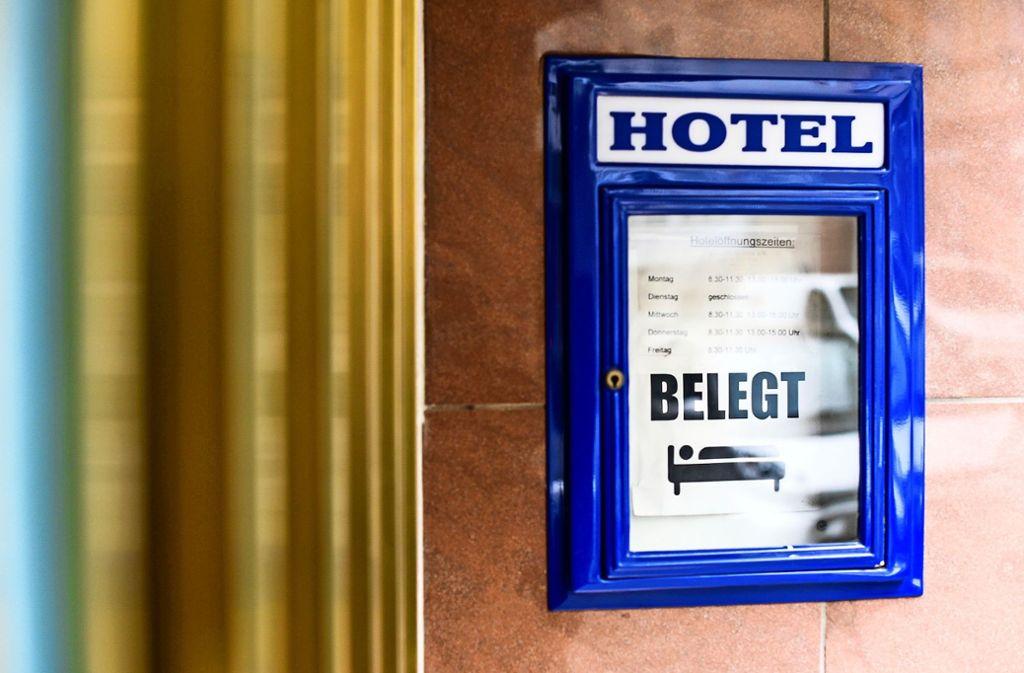 Im Hotel Weimar kann man nicht spontan einchecken.Foto:Lichtgut/Kovalenko Foto: