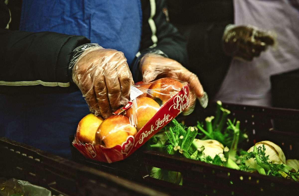 Tafeln sehen sich auch als Lebensmittelretter. Foto: Lichtgut/Leif-Hendrik Piechowski