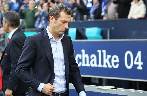 Schalke und Trainer Weinzierl stehen vor der Trennung