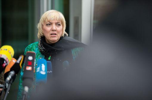 Morddrohungen gegen Claudia Roth