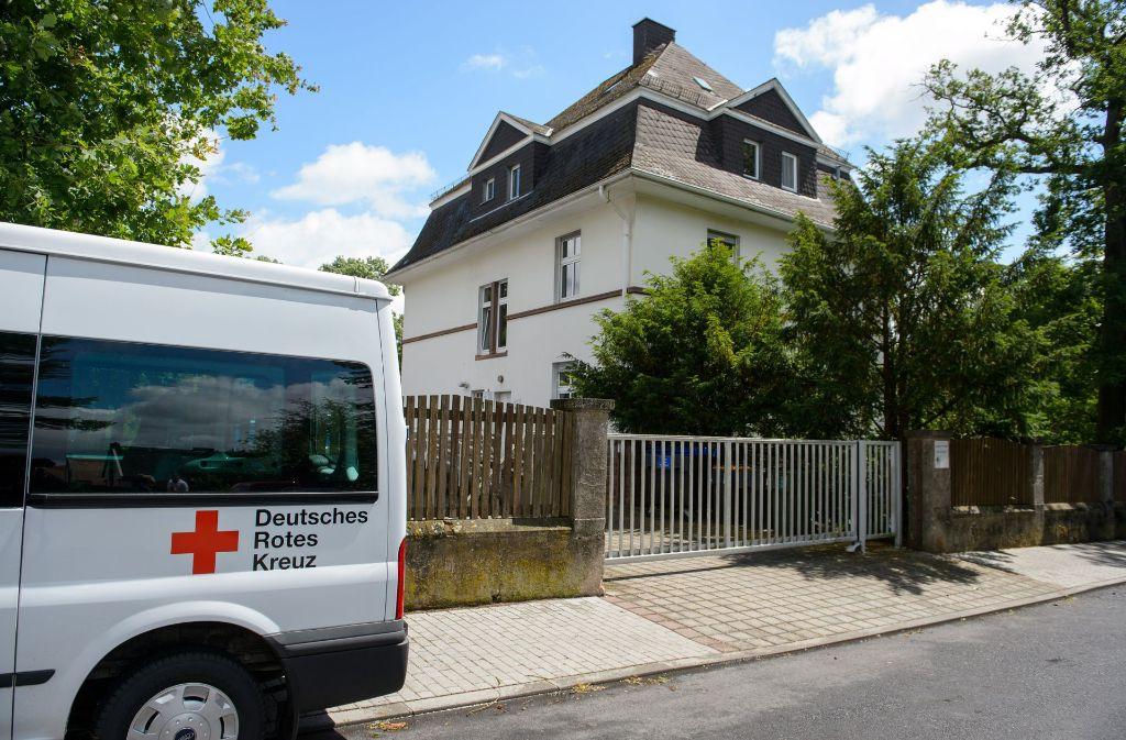 In dieser Beratungsstelle des Deutschen Roten Kreuzes hat ein Syrer einen Berater erstochen. Foto: dpa