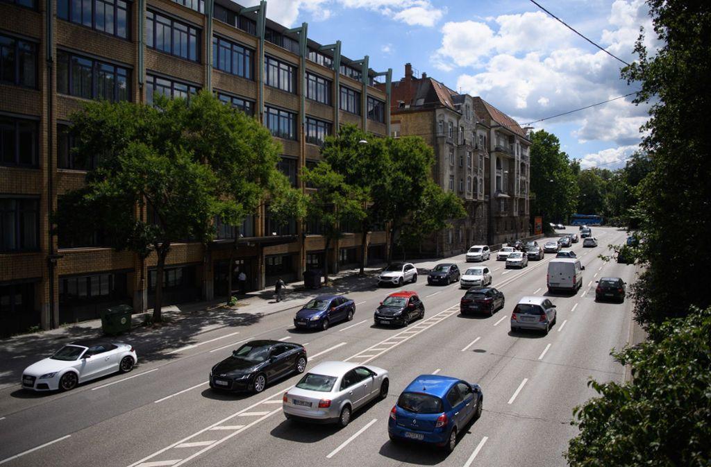 Am Neckartor wurde der Nassstaubsauger getestet. Foto: dpa