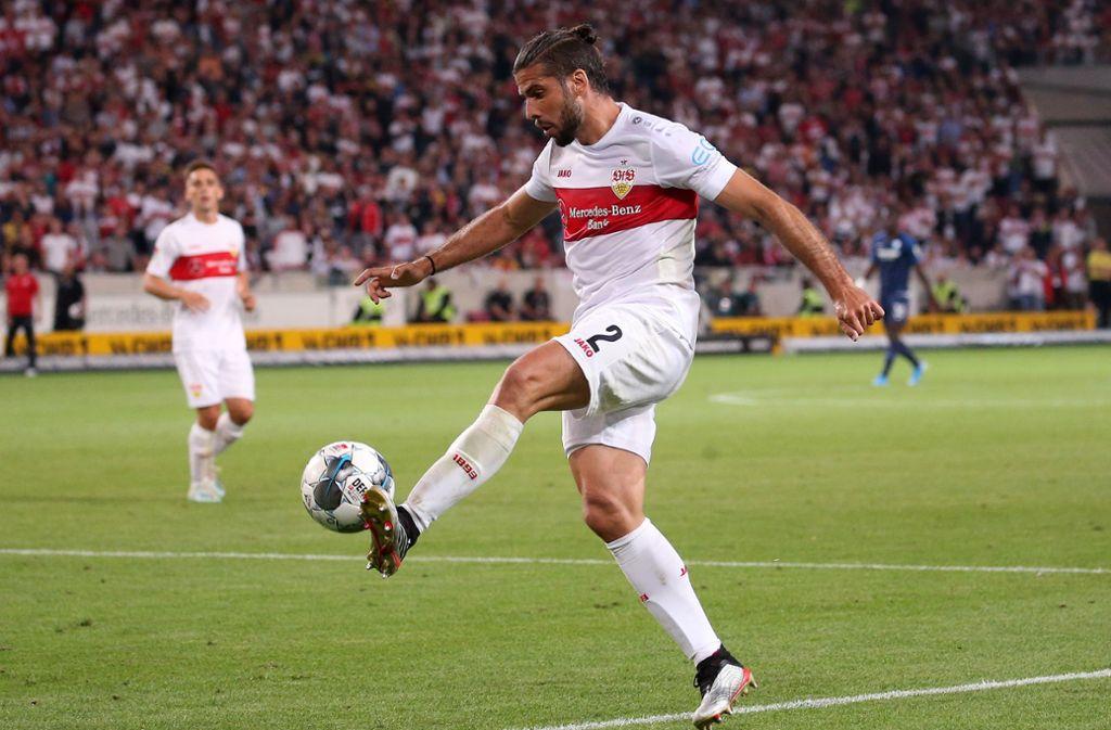 Abschied vom VfB Stuttgart: Emiliano Insua Foto: Baumann