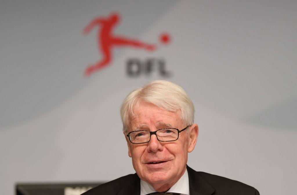 DFL-Präsident Reinhard Rauball will im kommenden Jahr nicht mehr kandidieren. Foto: dpa