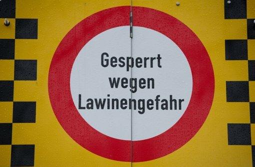 In Österreich herrscht derzeit hohes Lawinen-Risiko. Foto: dpa