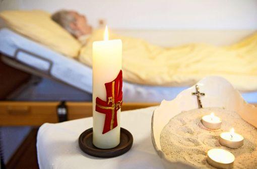 Schwere  Entscheidungen  für Hospizler