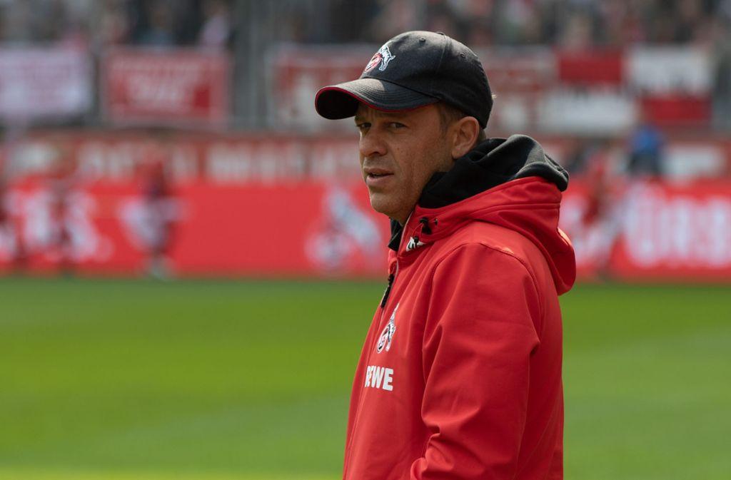 Der Vater von FC-Trainer Markus Anfang liegt im Krankenhaus. Foto: Bongarts