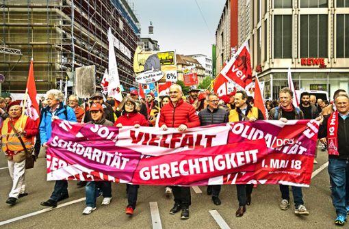 4000 Bürger demonstrieren für Solidarität