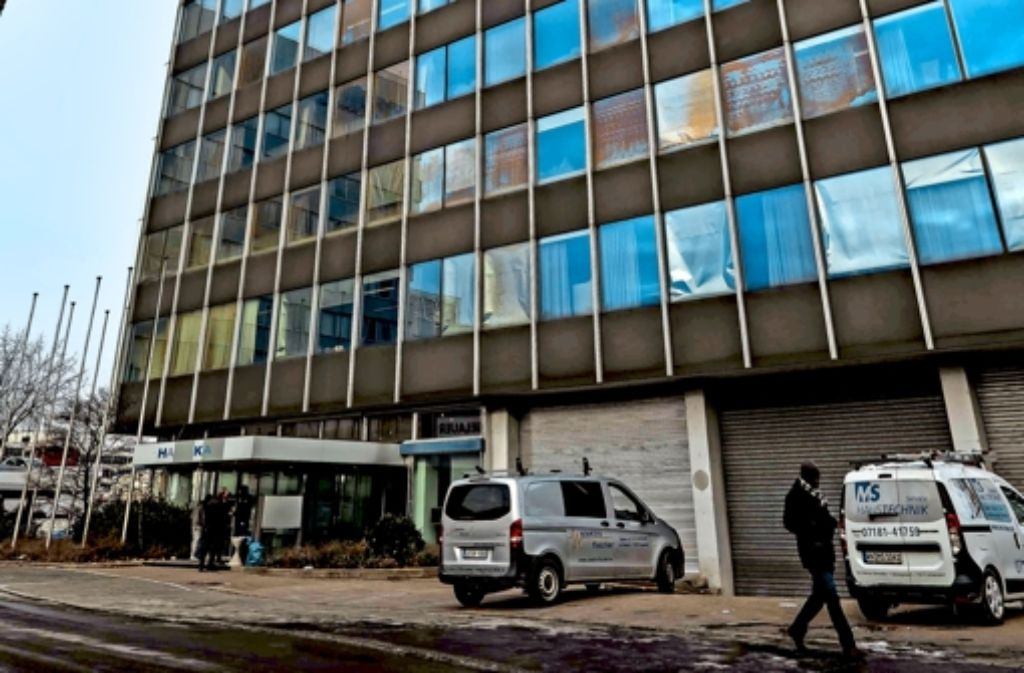An der  Borsigstraße haben Flüchtlinge     Sicherheitsleute angegriffen. Foto: Lg/Kovalenko, StZ