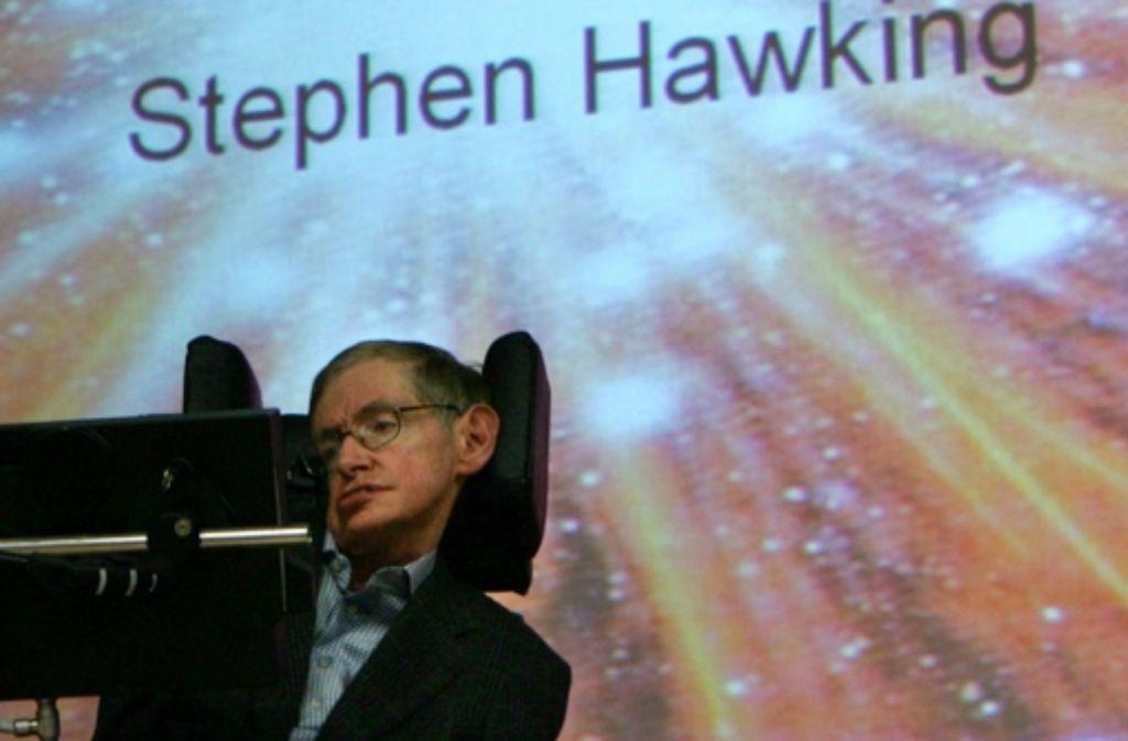 Wenn Stephen Hawking auftritt, ist der Saal meist ausverkauft. Foto: ddp