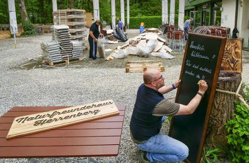 Biergärten erwarten Ansturm an Pfingsten
