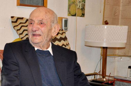 Gustav Gerneth feiert seinen 113. Geburtstag