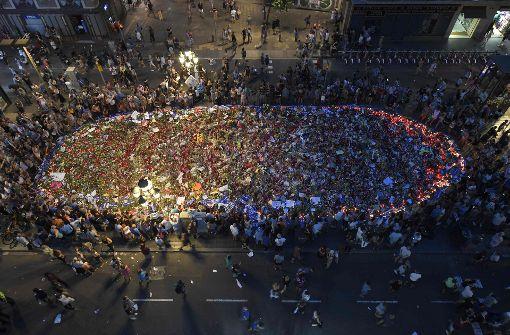 Hunderttausende demonstrieren in Barcelona