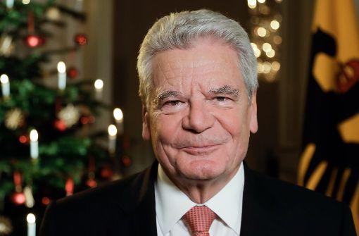 Gauck warnt nach Anschlag vor Schüren von Feindbildern