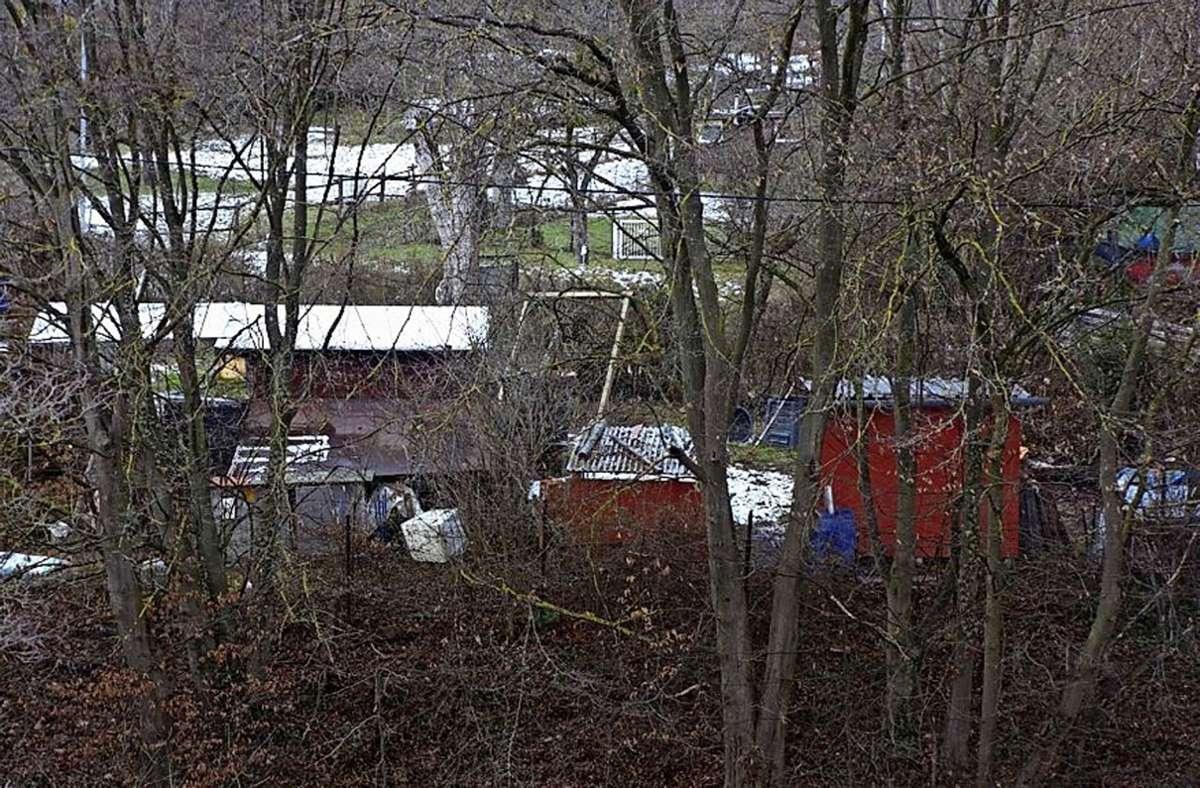 Vereinigte Hüttenwerke, garniert mit Gerümpel, im Landschaftsschutzgebiet Foto: z/privat