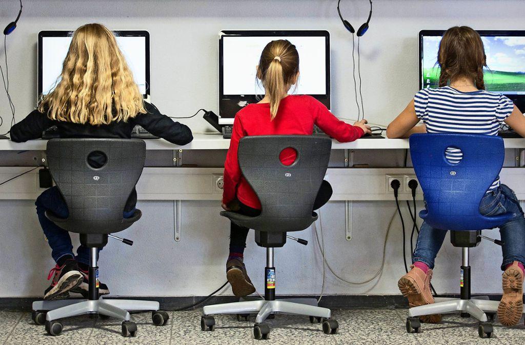 Die Digitalisierung in Klassenzimmern schreitet voran. Foto: dpa