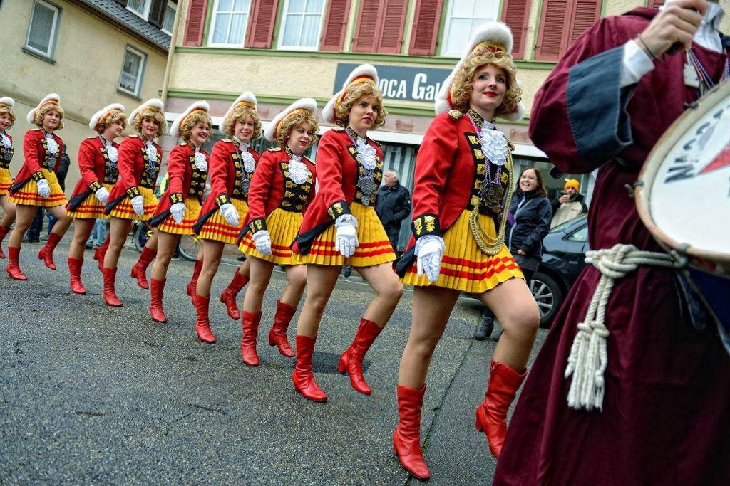 Die Damen vom AHA-Ballett sind auch mit von der Partie. Foto: Narrenzunft AHA
