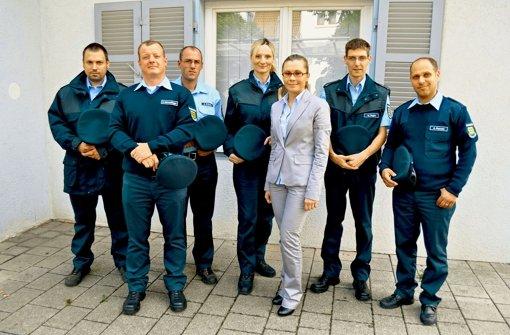 Ortspolizei trägt jetzt blau