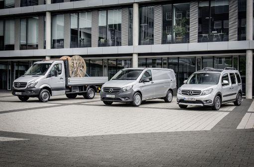 Daimler bringt auch den Citan mit Elektroantrieb
