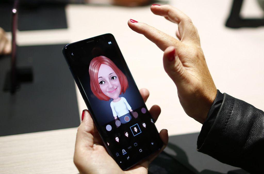 Auf der Mobilfunkmesse in Barcelona werden die neuesten Handys vorgestellt. Foto: AP