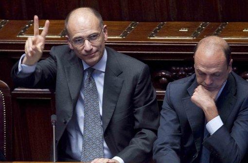 Letta kann weitermachen –  Berlusconi bläst Regierungskrise ab