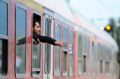Regionalzüge  fahren wieder