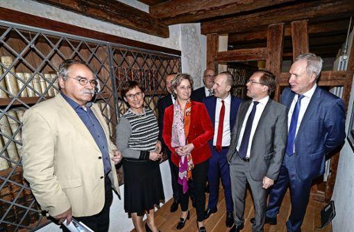 Die Ministerin freut sich auf die Klösterle-Erweiterung